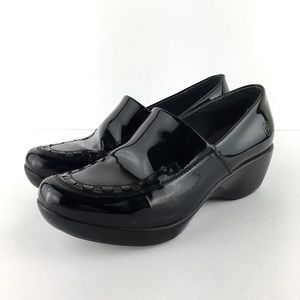 Ariat Patent Leather HighGloss Clogs Mules Sz 8.5B